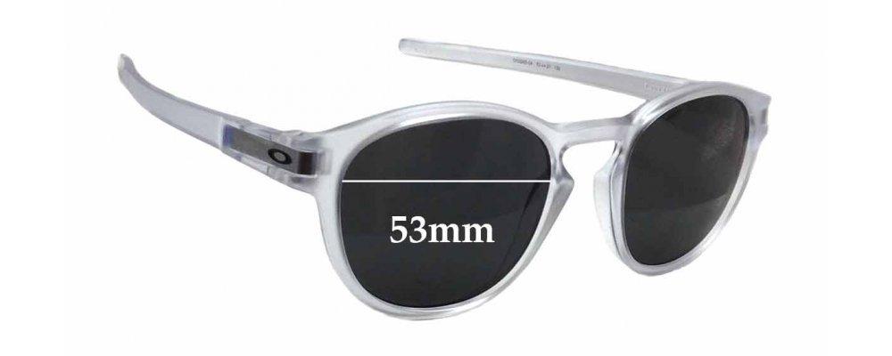 Oakley 9265 Latch Replacement Sunglass Lenses - 53mm wide x 45mm tall