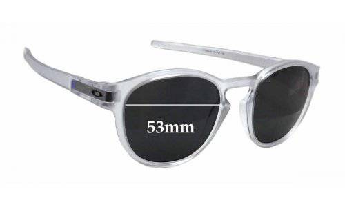 Oakley 9265 Latch Replacement Sunglass Lenses - 53mm wide x 45mm tall