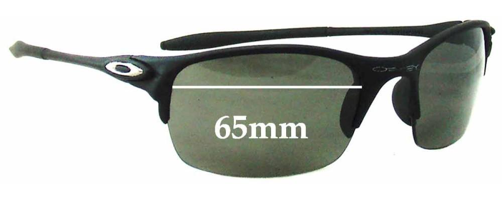 Oakley BD5949 Replacement Sunglass Lenses - 65mm wide