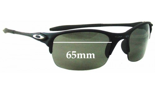 Oakley BD5949 Replacement Sunglass Lenses - 65mm wide