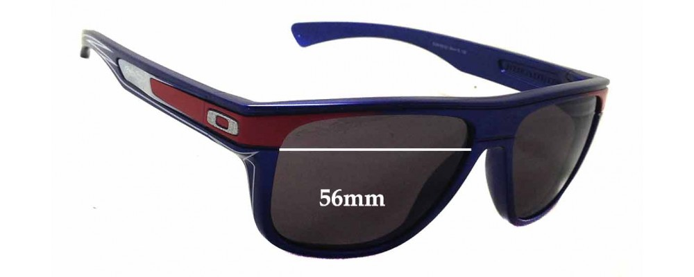 Oakley Breadbox Troy Lee Replacement Sunglass Lenses - 56mm wide - 46mm tall