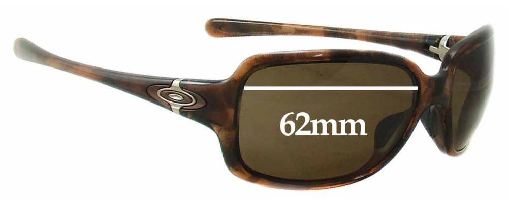 Oakley Break Point Replacement Sunglass Lenses - 62mm Wide