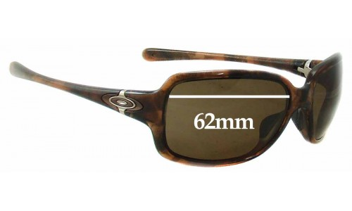 Oakley Break Point Replacement Sunglass Lenses - 62mm Wide
