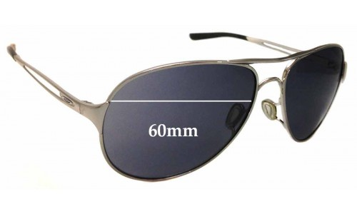 Oakley Caveat OO4054 Replacement Sunglass Lenses - 60mm Wide