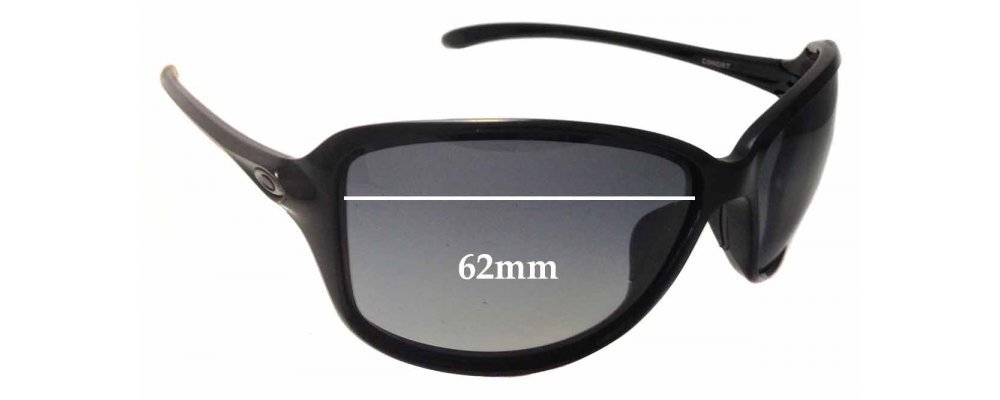 fe4658aab8a Oakley Cohort OO9301 Replacement Sunglass Lenses - 62mm wide