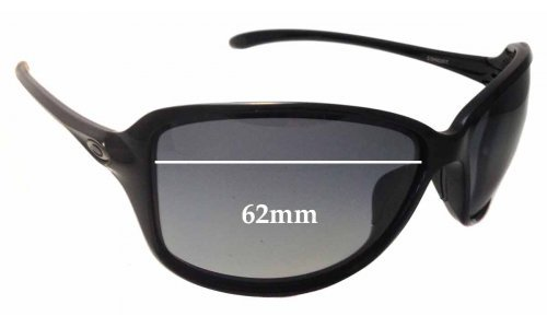 Oakley Cohort OO9301 Replacement Sunglass Lenses - 62mm wide