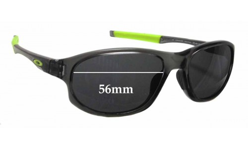 Oakley Crosslink OX8048 Replacement Sunglass Lenses - 56mm wide