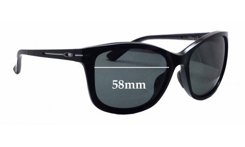 Sunglass Fix Replacement Lenses for Oakley Drop In OO9232 - 58mm wide