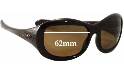 Sunglass Fix Replacement Lenses for Oakley Eternal - 62mm wide
