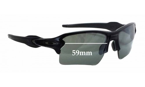 Oakley Flak 2.0 Replacement Sunglass Lenses - 59mm wide