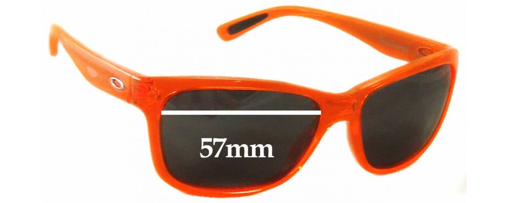 Oakley Forehand OO9179 Replacement Sunglass Lenses - 57mm wide