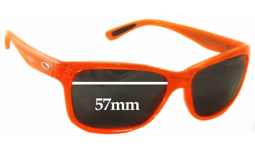 Sunglass Fix Replacement Lenses for Oakley Forehand OO9179 - 57mm wide
