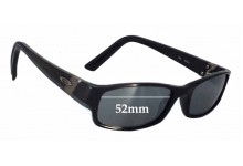Oakley Gasket Replacement Sunglass Lenses - 52mm wide