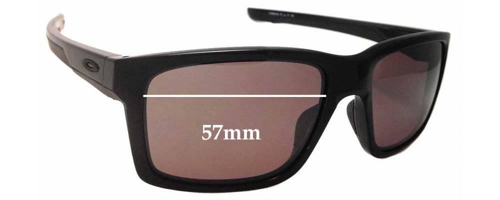 Oakley Mainlink OO9264 Replacement Sunglass Lenses - 57mm Wide