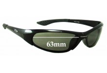 Oakley Mod 0885 Replacement Sunglass Lenses - 63mm Wide