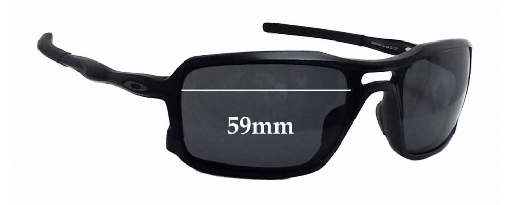 bb83653596 Oakley OO9266 Triggerman Replacement Sunglass Lenses - 59mm wide