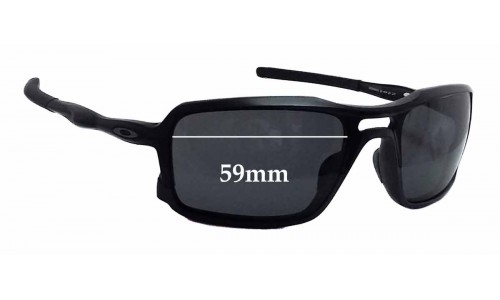 Oakley OO9266 Triggerman Replacement Sunglass Lenses - 59mm wide