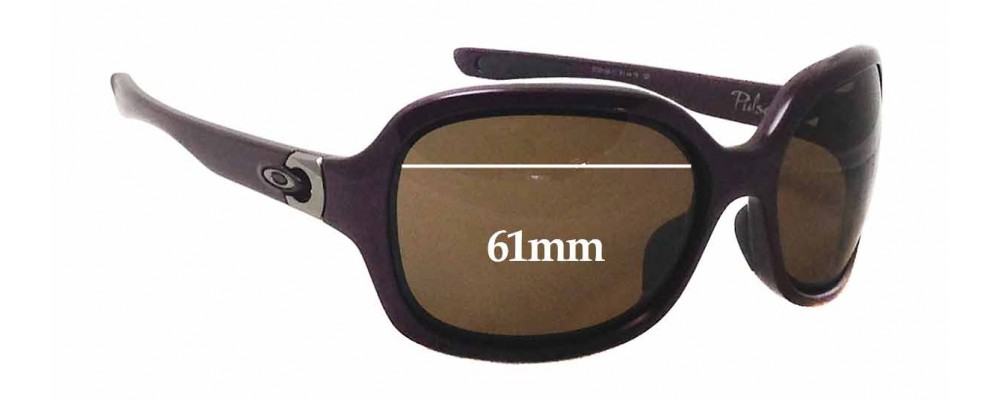 d458083c13 Oakley Pulse OO9198 Replacement Lenses 61mm by The Sunglass Fix®