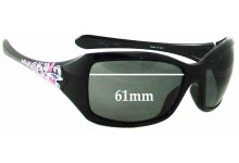 936bb012a9 Sunglass Fix Sunglass Replacement Lenses for Oakley Ravishing - 61 - 62mm  Wide