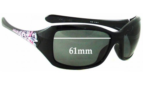 Sunglass Fix Replacement Lenses for Oakley Ravishing - 61 - 62mm Wide