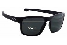 Oakley Silver F OO9246 Replacement Sunglass Lenses - 57mm Wide