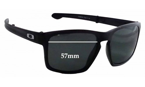 Sunglass Fix Replacement Lenses for Oakley Sliver F OO9246 - 57mm Wide
