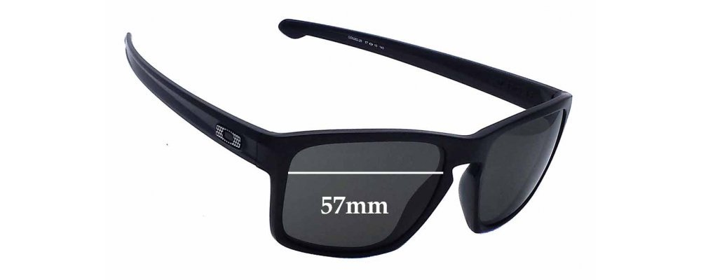 Oakley Sliver OO9262 Replacement Sunglass Lenses - 57mm wide