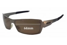 Oakley Spike Replacement Sunglass Lenses - 64mm wide