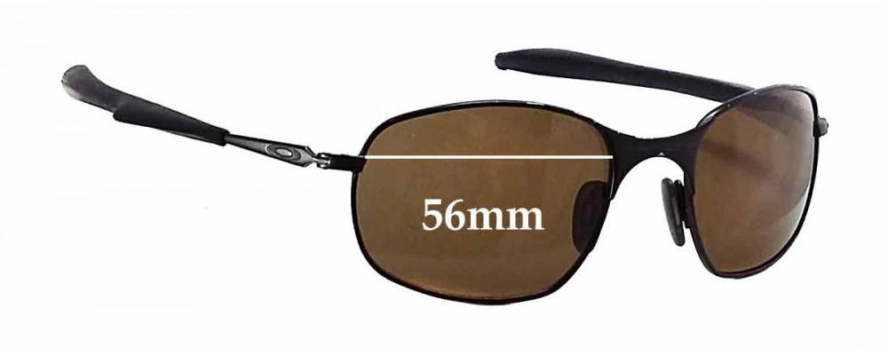 Oakley Square Wire Gen. 2 Replacement Sunglass Lenses - 56mm wide