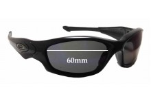 Oakley Straight Jacket Replacement Sunglass Lenses 60mm & 61mm wide