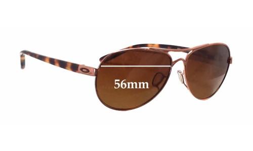 6705ab1fd1 Oakley OO4108 Tie Breaker Replacement Sunglass Lenses - 56mm wide