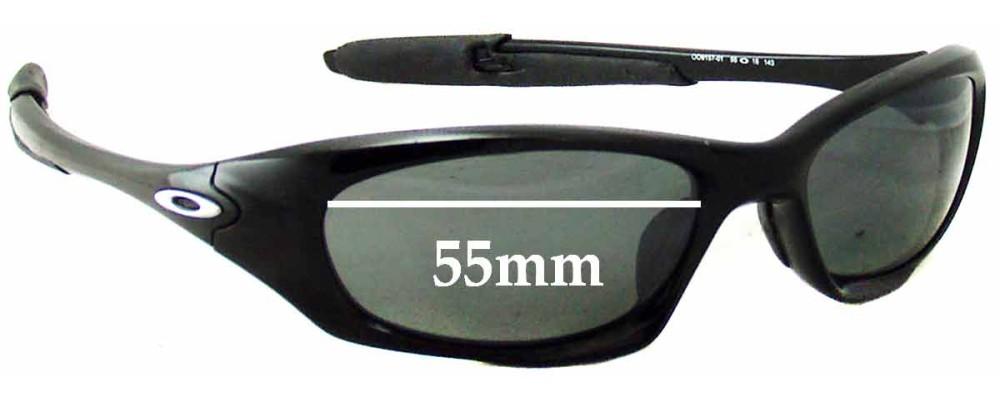 db683a34bd Oakley Twenty XX OO9157 Replacement Sunglass Lenses - 55mm wide