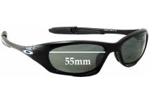 Oakley Twenty XX OO9157 Replacement Sunglass Lenses - 55mm wide