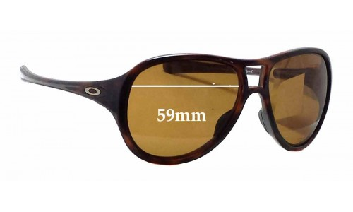 Oakley Twentysix 2 OO9177 Replacement Sunglass Lenses - 59mm wide