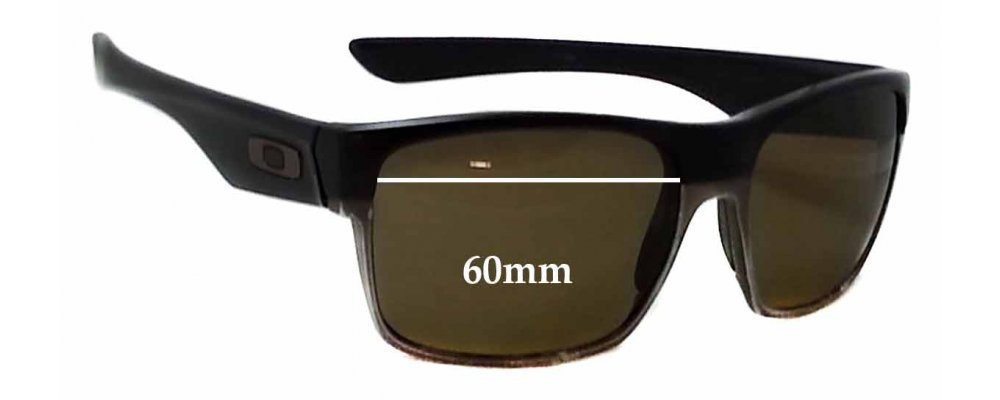 4bb3c1cc8c Oakley Two Face Replacement Sunglass Lenses - 60mm Wide