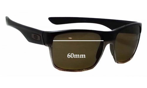 Oakley Two Face Replacement Sunglass Lenses - 60mm Wide