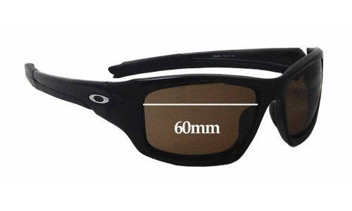 Sunglass Fix Replacement Lenses for Oakley OO9236 Valve (newer model) - 60mm wide