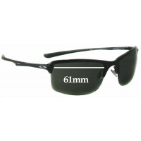 1573e43a7d Sunglass Fix New Replacement Lenses for Oakley OO4071 New Wiretap - 61mm  wide
