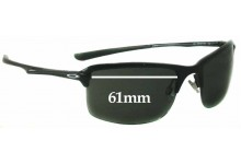 Oakley OO4071 New Wiretap Replacement Sunglass Lenses - 61mm wide