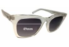 OAMC Mara Replacement Sunglass Lenses - 49mm wide