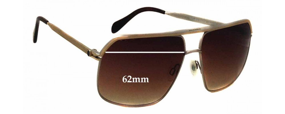 66e5253975 Oliver Peoples Connolly OV1085-S Replacement Sunglass Lenses - 62mm wide