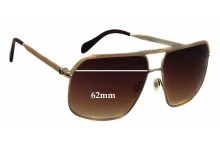 Oliver Peoples Connolly OV1085-S Replacement Sunglass Lenses - 62mm wide