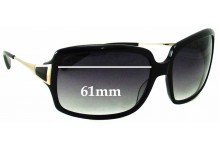 Oliver Peoples Dulaine Replacement Sunglass Lenses - 61MM wide