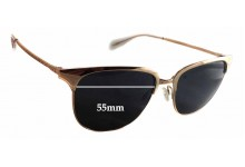 Oliver Peoples Leiana Replacement Sunglass Lenses - 55mm wide - 47mm tall