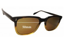 Oliver Peoples NDG-1-P Replacement Sunglass Lenses - 50mm wide