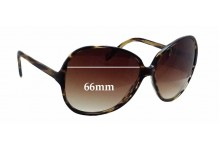 Oliver Peoples OV5167S Donyale Replacement Sunglass Lenses - 66mm wide