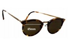 Oliver Peoples Reeves 5122 Replacement Sunglass Lenses - 45mm wide