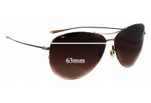 Oliver Peoples Strummer Replacement Sunglass Lenses - 63mm wide