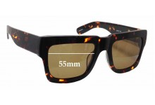 Onkler Bully Replacement Sunglass Lenses - 55mm wide