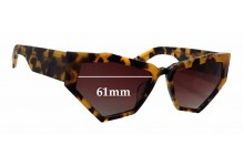 Onkler For Your Eyes Only Replacement Sunglass Lenses - 61mm wide